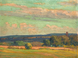Artwork by John William Beatty, Landscape Near Port Hope