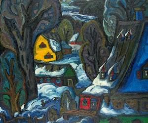 Artwork by Pierre Bedard, Point de hivernal