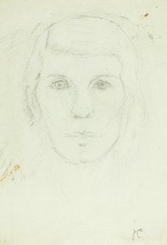 Artwork by Paraskeva Clark, Self Portrait