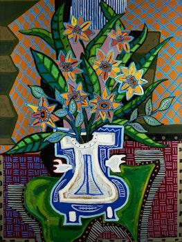 Artwork by Pierre Bedard, Le Napperon Vert
