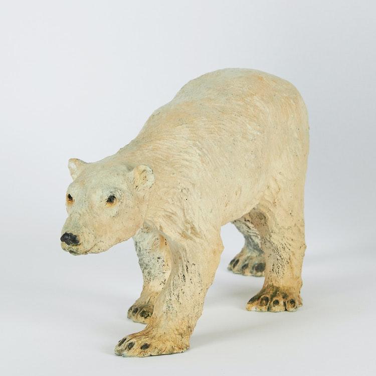 Artwork by Joe Fafard,  Polar Bear