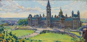 Artwork by Francesco Iacurto, Parliament Hill, Ottawa