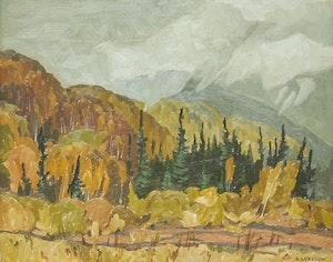 Artwork by Alfred Joseph Casson, Morning Mist - September