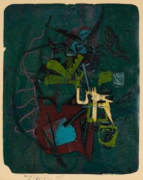 Artwork by Harold Barling Town, The Drawbridge of Oceanus