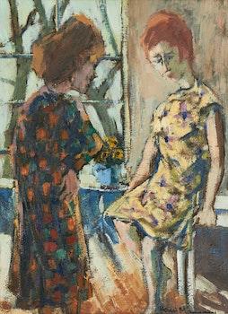 Artwork by Henri Leopold Masson, Conversation