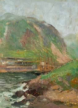 Artwork by Maurice Galbraith Cullen, Signal Hill, St. John's, Newfoundland