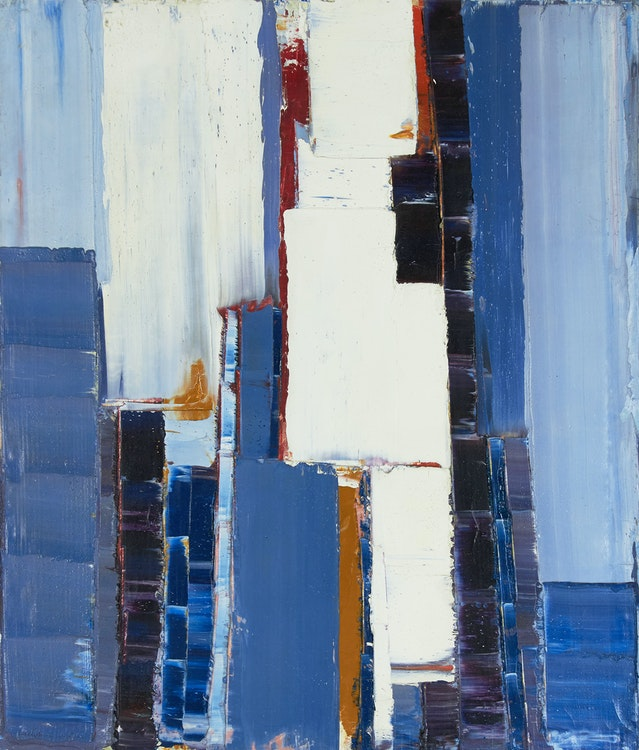 Artwork by John Anderson,  Abstraction, Paris, 1968