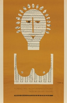 Artwork by Harold Barling Town, New Town: Enigmas; Florence Vale: Recent Drawings & Collage