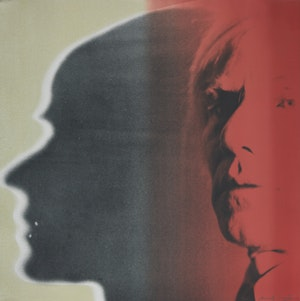 Artwork by Andy Warhol, The Shadow