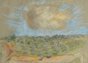 Artwork by Joseph Francis Plaskett, Volterra