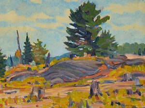 Artwork by Peter Clapham Sheppard, Muskoka Back Country