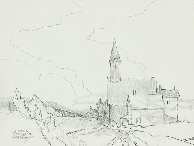 Artwork by Joachim George Gauthier,  Claremont