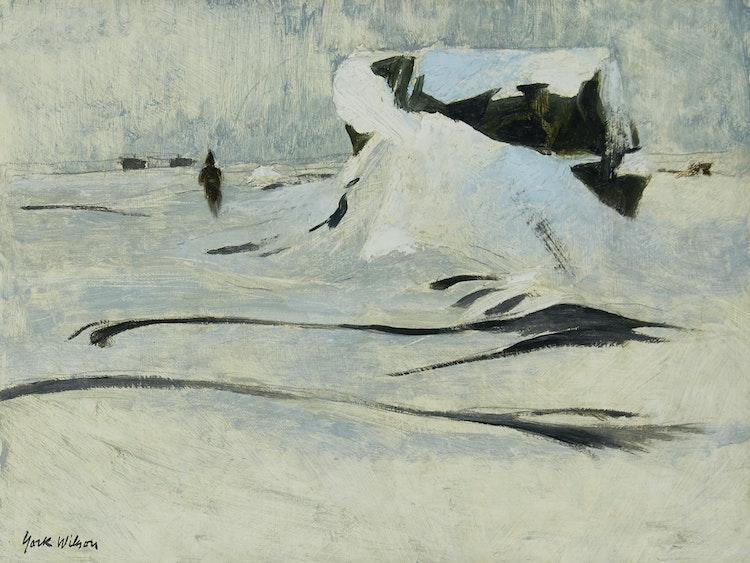 Artwork by Ronald York Wilson,  Fort Churchill