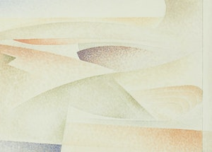 Artwork by Lionel LeMoine FitzGerald, Abstract (Coastal Scene)