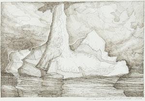 Artwork by David Lloyd Blackwood, Iceberg
