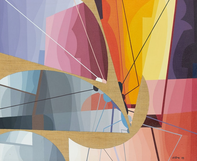 Artwork by Jean-Paul Jérôme,  Des Immensités