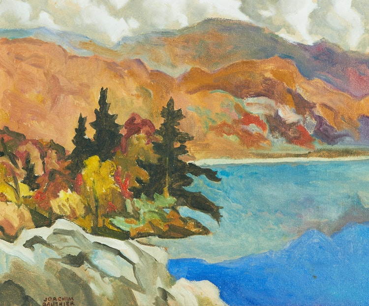 Artwork by Joachim George Gauthier,  Early Autumn