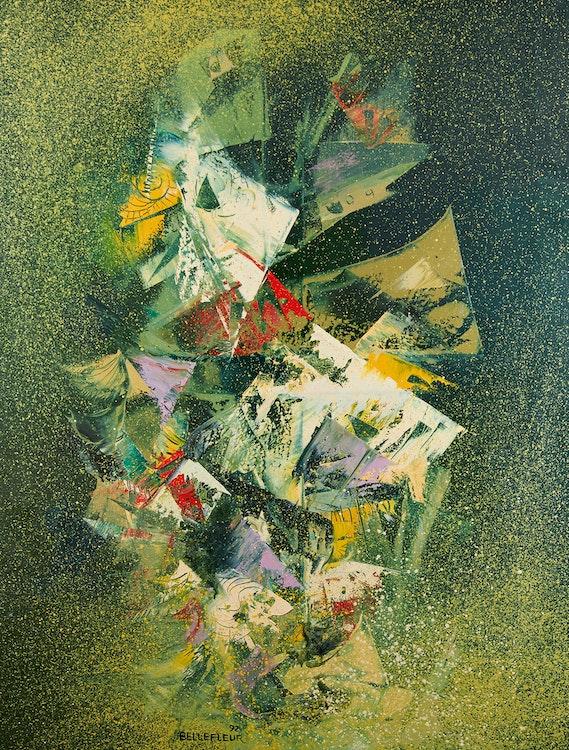 Artwork by Léon Bellefleur,  Illumination