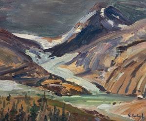 Artwork by Rene Richard, Columbia Ice Fields