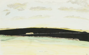 Artwork by William Kurelek, To My Father's Village