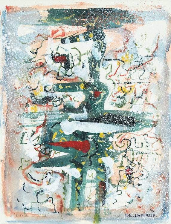 Artwork by Léon Bellefleur,  Lame d'épée