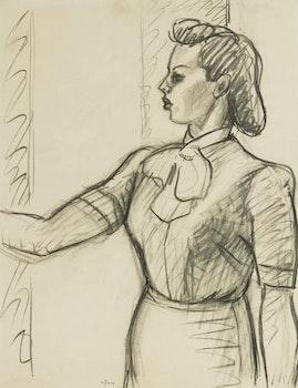 Artwork by John Goodwin Lyman, Female Figure