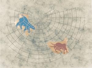 Artwork by  General Idea, Ursa Major & Taurus: Pavillion Fragments from the Starry Vault