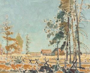 Artwork by Robert Genn, Chilcotin Landscape