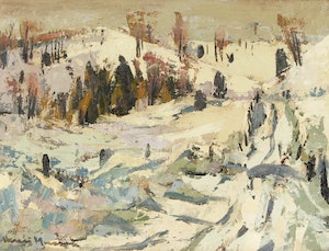 Artwork by Henri Leopold Masson, Road in March