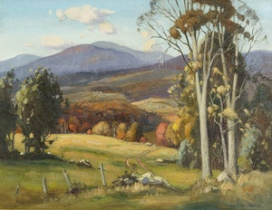 Artwork by Frank Shirley Panabaker, Rolling Hills