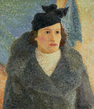Artwork by Jean-Philippe Dallaire, Portrait of a Woman