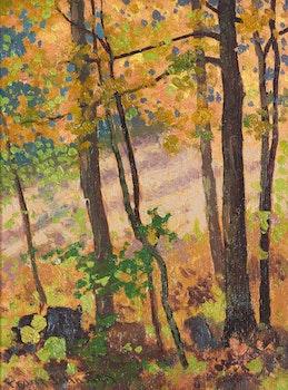 Artwork by Frank Hans Johnston, Autumn Colour