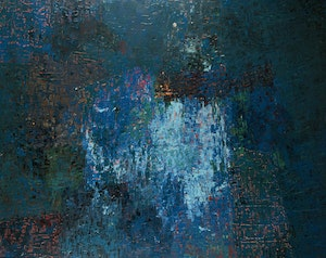 Artwork by William Perehudoff, Abstract, circa 1958