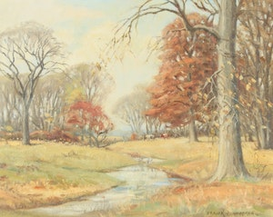 Artwork by Frank Shirley Panabaker, Late Fall Near Ancaster