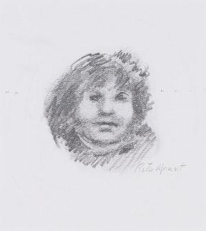 Artwork by Rita Mount, Portrait Study