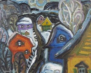 Artwork by Pierre Bedard, La Montée