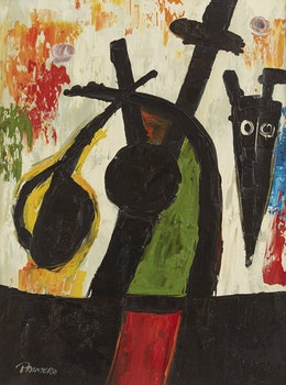 Artwork by  Palmero, Abstract Figure; Untitled Abstract