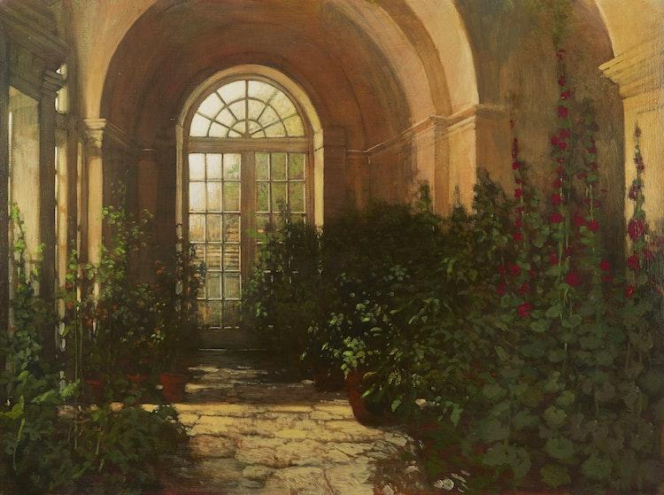 Artwork by Philip Craig,  Hestercombe Orangerie