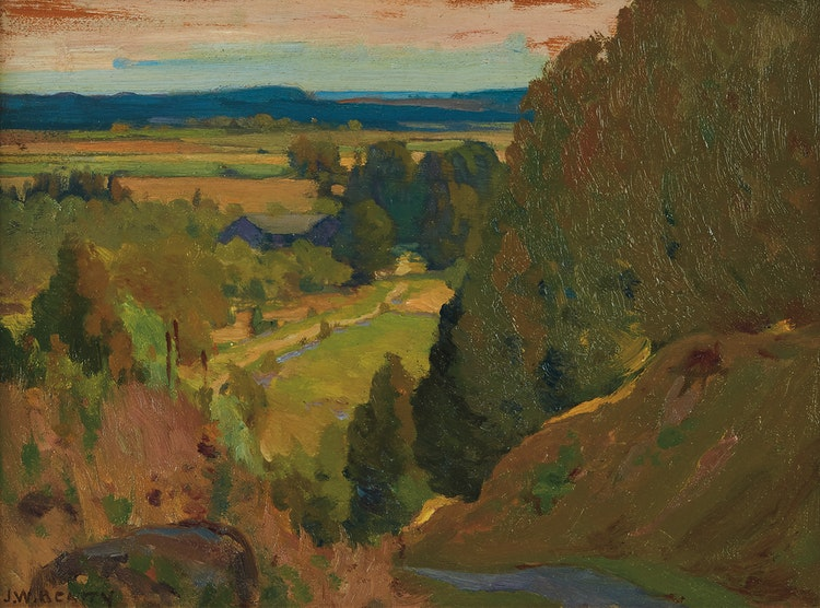 Artwork by John William Beatty,  Landscape