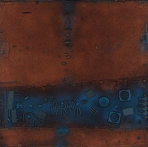 Artwork by Jacques Godefroy de Tonnancour, Échos et vestiges de l'âge de bronze #7