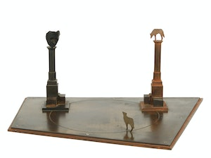 Artwork by John McEwen, Maquette for After Babel