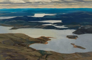 Artwork by Alan Caswell Collier, Big River, Labrador