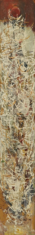 Artwork by Gordon Appelbe Smith,  Fire Weed in Winter