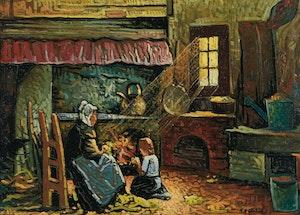 Artwork by Marc-Aurèle Fortin, Intérieur
