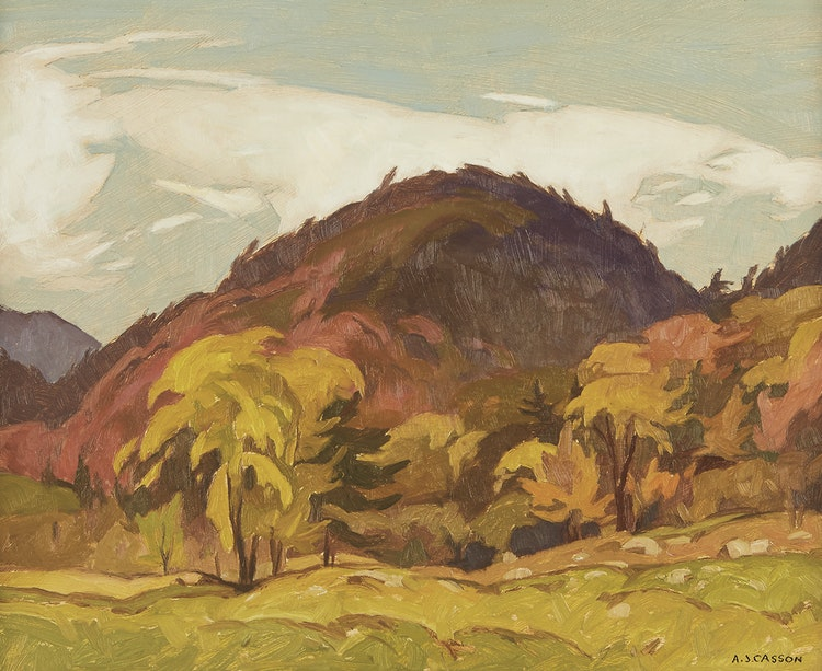 Artwork by Alfred Joseph Casson,  September - Grenville, Quebec