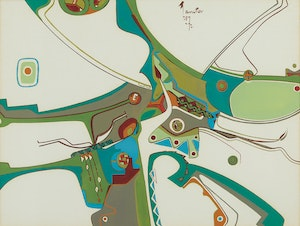 Artwork by Alex Simeon Janvier, The Frank Breech