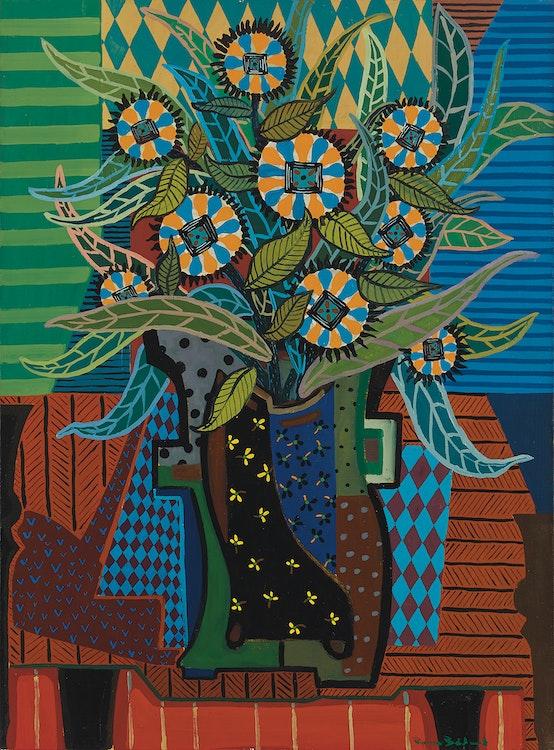Artwork by Pierre Bédard,  Fleurs en plus