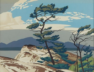 Artwork by Alfred Joseph Casson, White Pine