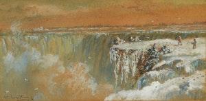 Artwork by William Armstrong, Niagara Falls, Table Rock