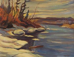 Artwork by Ralph Wallace Burton, Landscape
